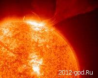 Пик солнечной активности в 2016 году