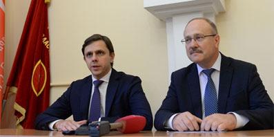 Врио губернатора Андрей Клычков встретился с депутатами от КПРФ