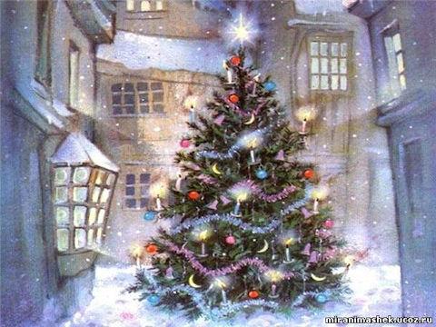 Дед Мороз — синий нос