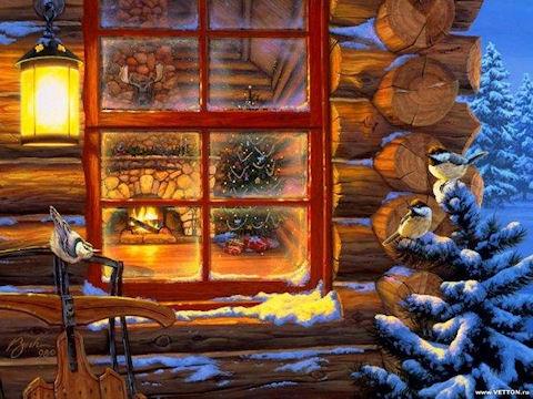 Дед Мороз потер свой нос